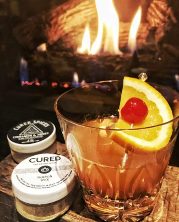 Cured Nutrition Pumpkin Spice Old Fashioned