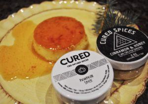 Pumpkin Spice Coconut Flan | CBD Edibles | CURED Nutrition