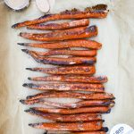 CBD Cinnamon Glazed Carrots Recipe