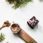 Frosted Peppermint CBD Brownies Recipe